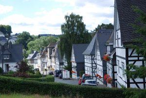 Fachwerk-Häuser im Sauerland